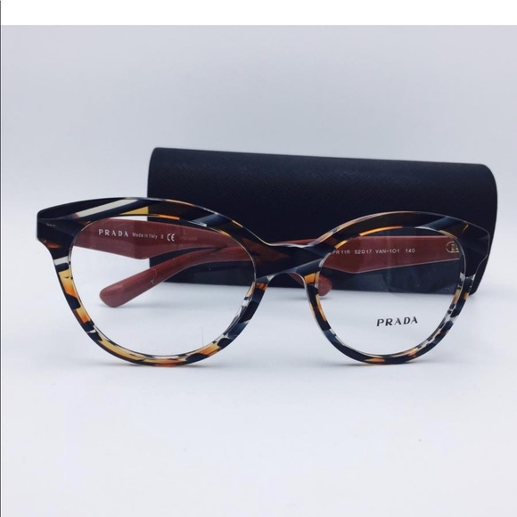 71a751b00287 New PRADA RX Cat Eye Trendy Glasses🧡🧡🧡